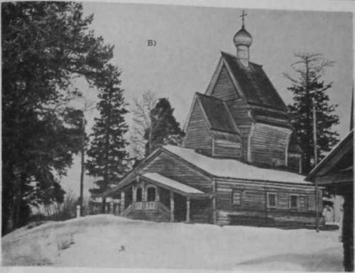 1.35 в – Георгиевская церковь (XVI—- XVII вв.) в с.Юксовичи