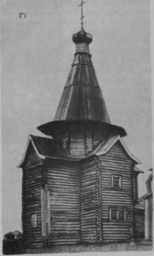 1.42 г - Никольская церковь (1753 г.) в с. Шуерецкое Архангельской обл. (фото В. В. Суслова. 1886 г.)