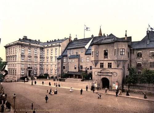 Unfriedtbau или Friedrichsbau: барочный флигель с королевскими покоями: